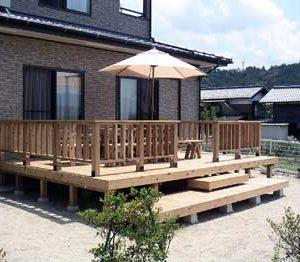 サイプレス 屋外家具(椅子テーブル) 第1回 応募作品 施工例