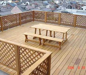 屋外家具(椅子テーブル) 第1回 応募作品 施工例