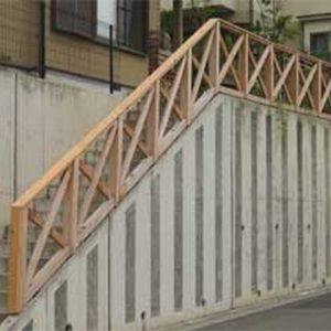 サイプレス セランガンバツ フェンス 第3回 応募作品 施工例