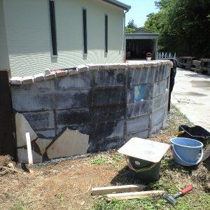 クマル サイプレス 枕木 第6回 応募作品 門柱 施工例