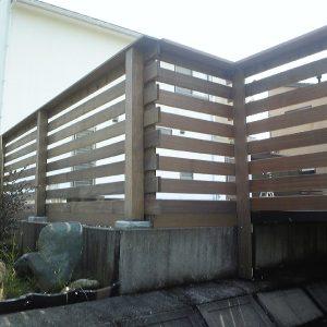 イペ クマル セランガンバツ フェンス 第6回 応募作品 施工例