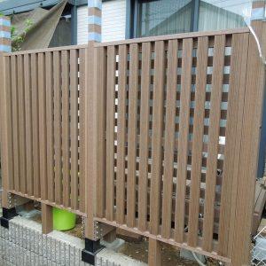 フェンス 再生木 ハンディウッド 第9回 応募作品 施工例