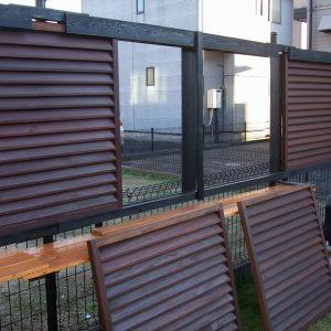 ウリン フェンス 第10回 応募作品 施工例
