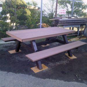 再生木 ハンディウッド 屋外家具(椅子テーブル) 第11回 応募作品 施工例