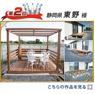 第2位:静岡県 東野様