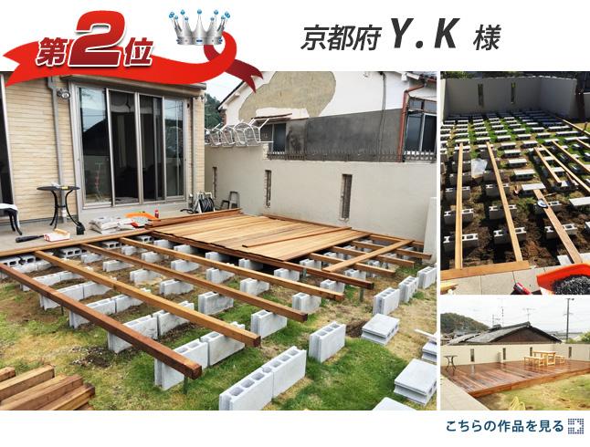 第2位:京都府 Y.K 様